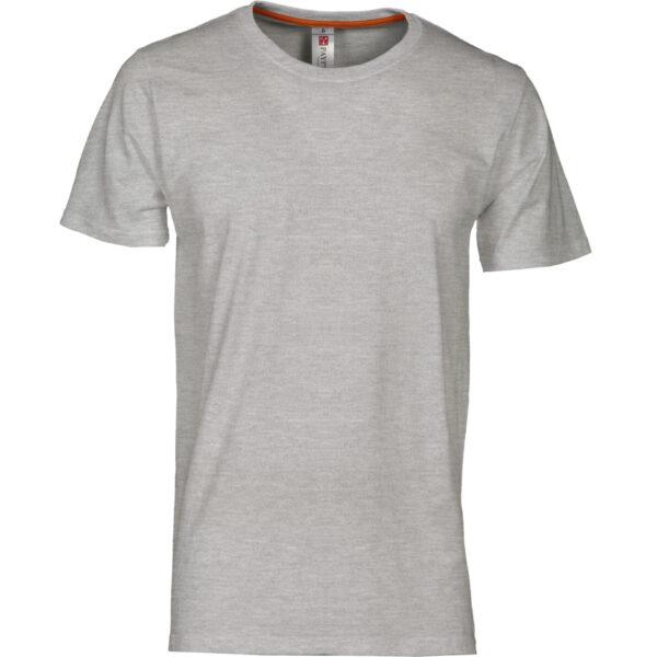 T shirt manica corta grigia jersey