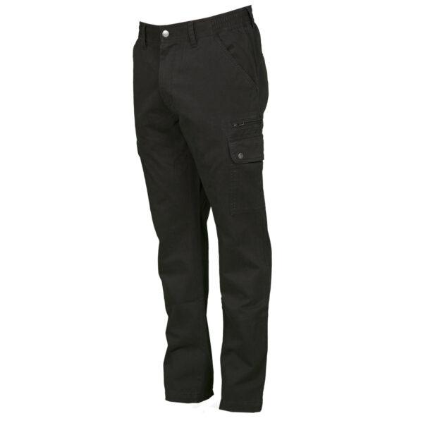Pantalone uomo multitasche nero