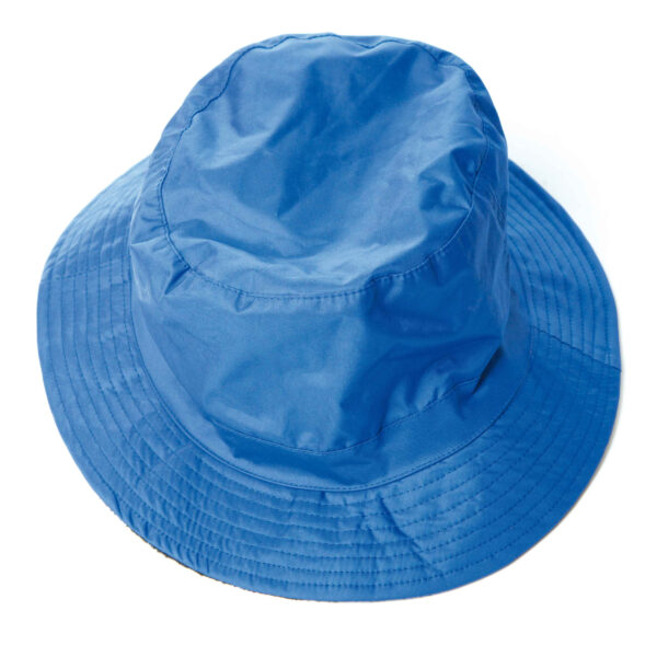 cappello pescatore nylon blu royal