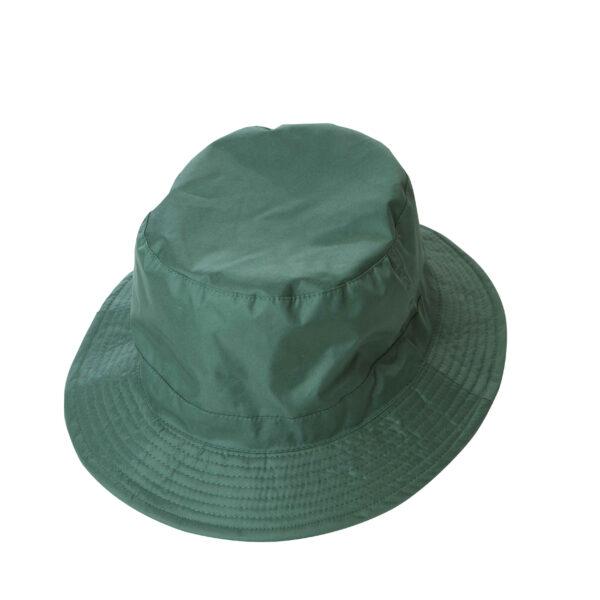 cappello pescatore nylon verde