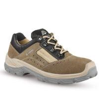 scarpa bassa s1p scamosciata marrone
