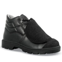 scarpa alta s3 hro per saldatore nera