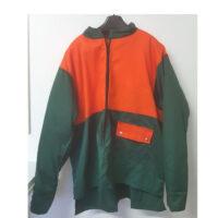 giacca verde arancio antitaglio