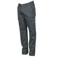 Pantalone grigio invernale con tasca