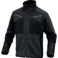 giacca uomo poliestere nero grigio
